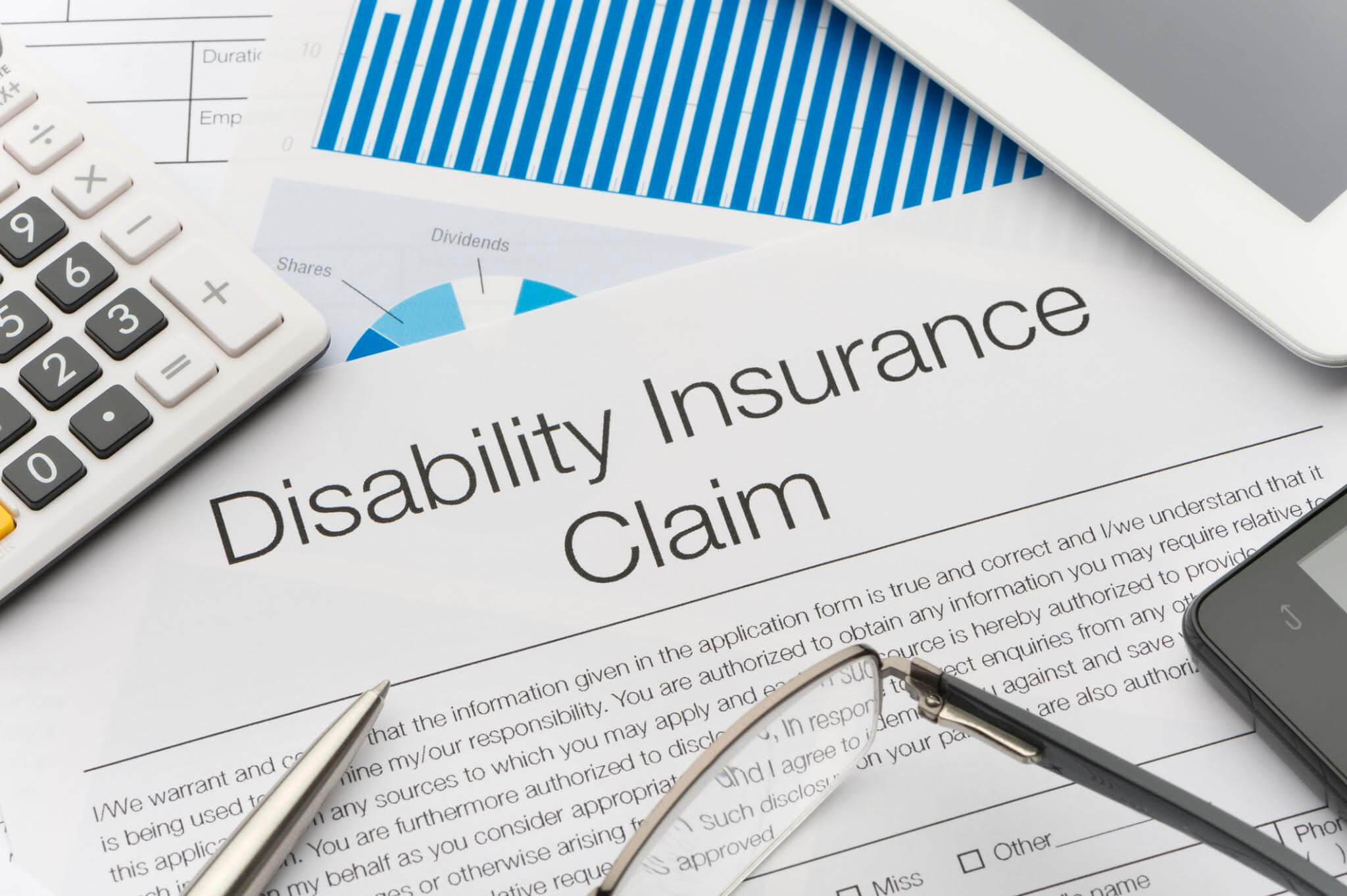 Presumptive Disability Form in Troy Michigan
