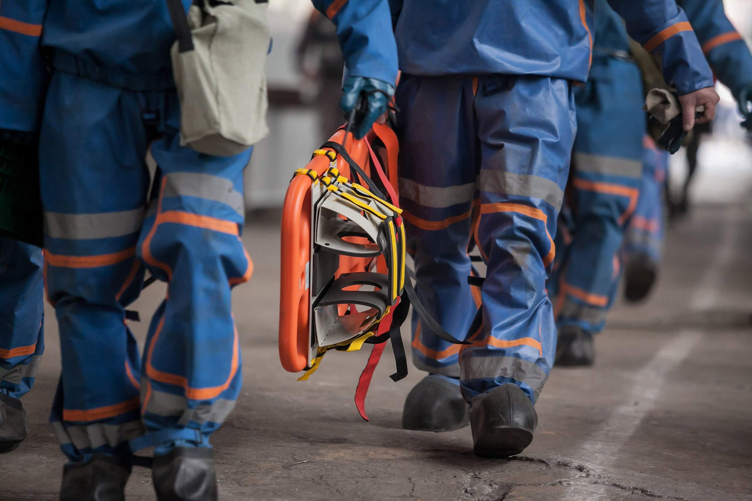 Military firefighters with possible expsosure to PFAS chemicals.