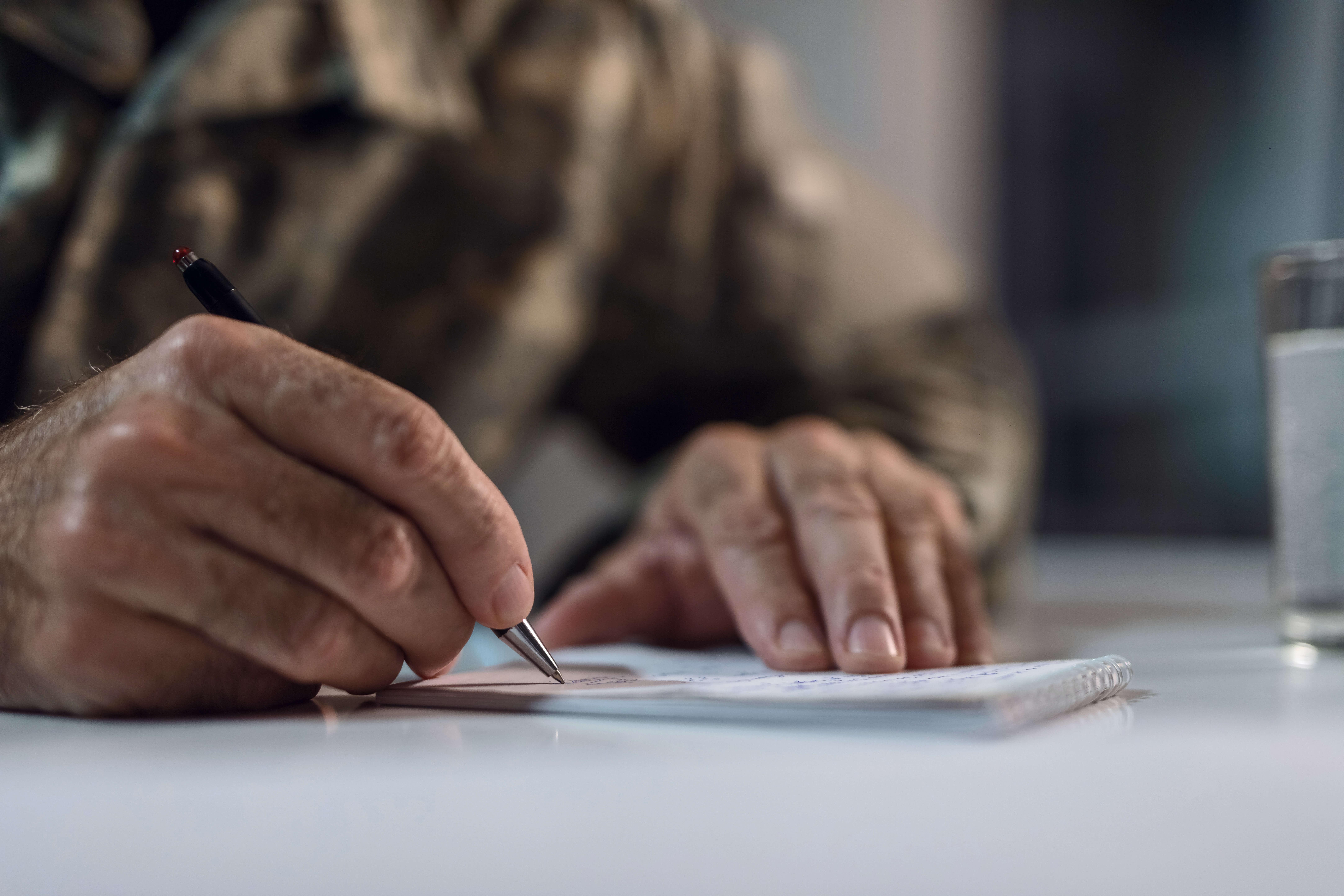 Older veteran writing to appeal his blue water navy denial.
