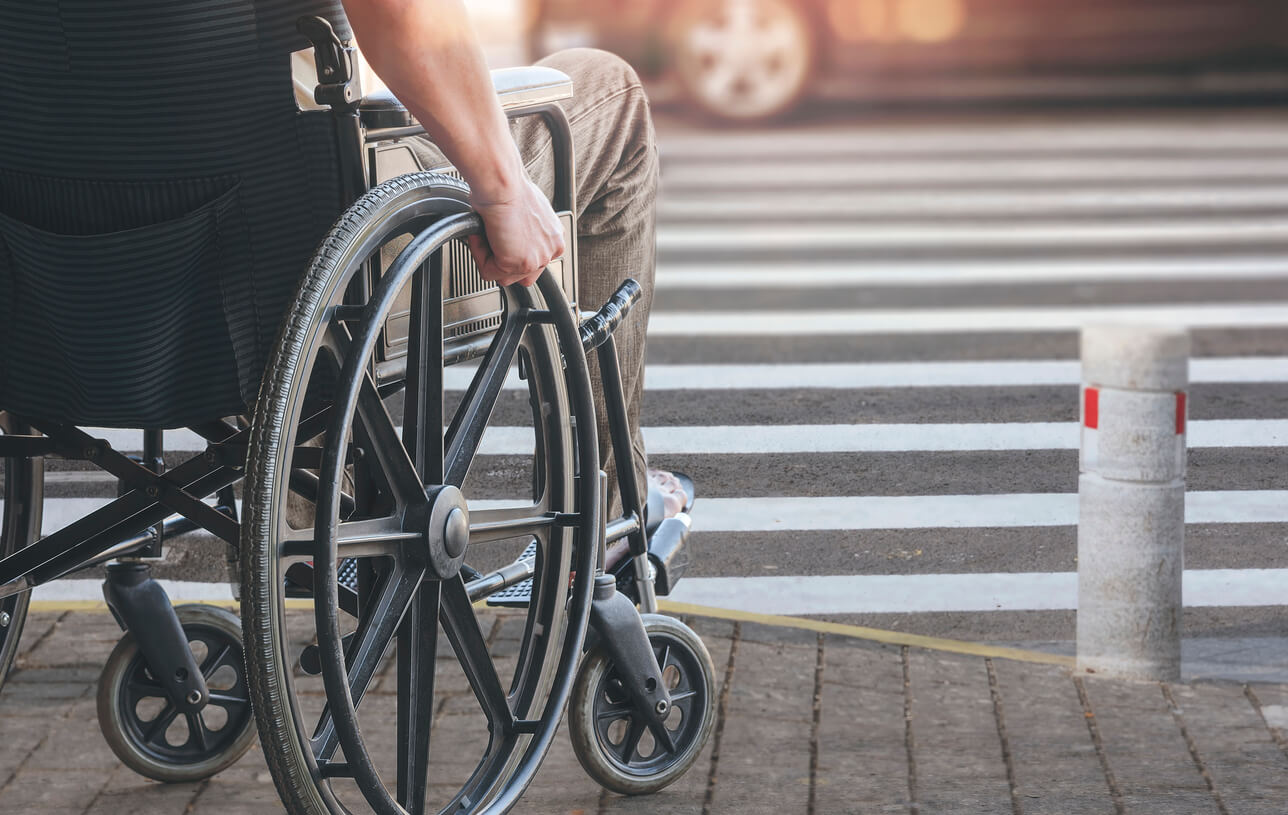 man with presumptive disability